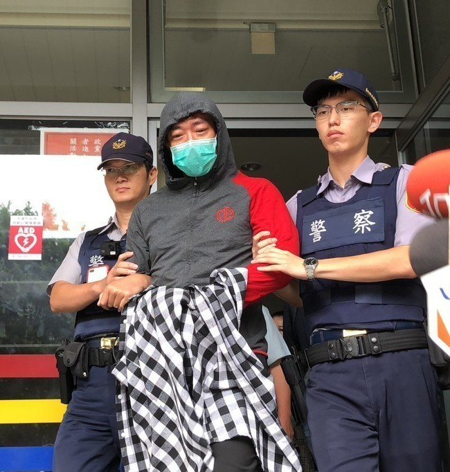 本土劇藝人江俊翰因涉毒品罪遭警方逮捕。 聯合報記者廖炳棋/攝影