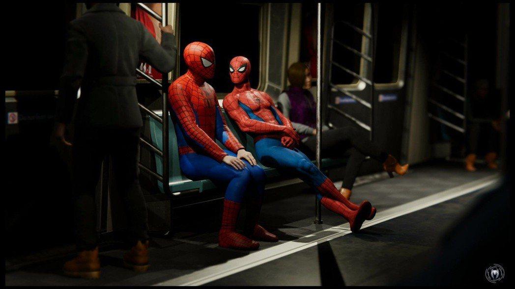 《漫威蜘蛛人》過場動畫。