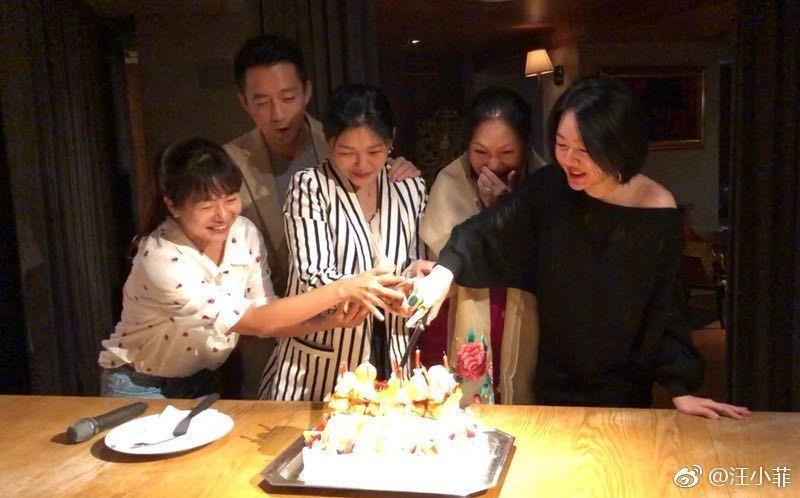 汪小菲為丈母娘慶生。圖/擷自汪小菲微博