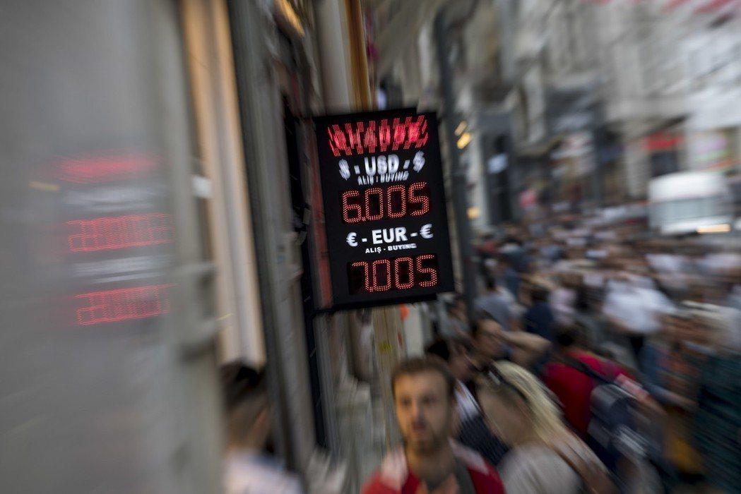 前一陣子,里拉在外匯市場上一瀉千里,縱使土耳其央行終於下令將利率拔升至24%,勉...