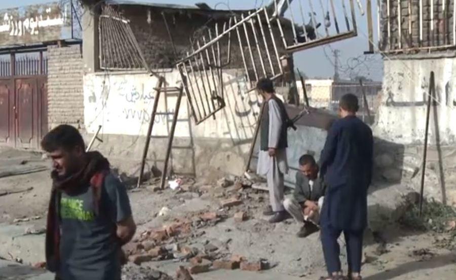 阿富汗首都爆不停,今年已至少造成12名記者身亡。 台灣醒報(擷自影片)