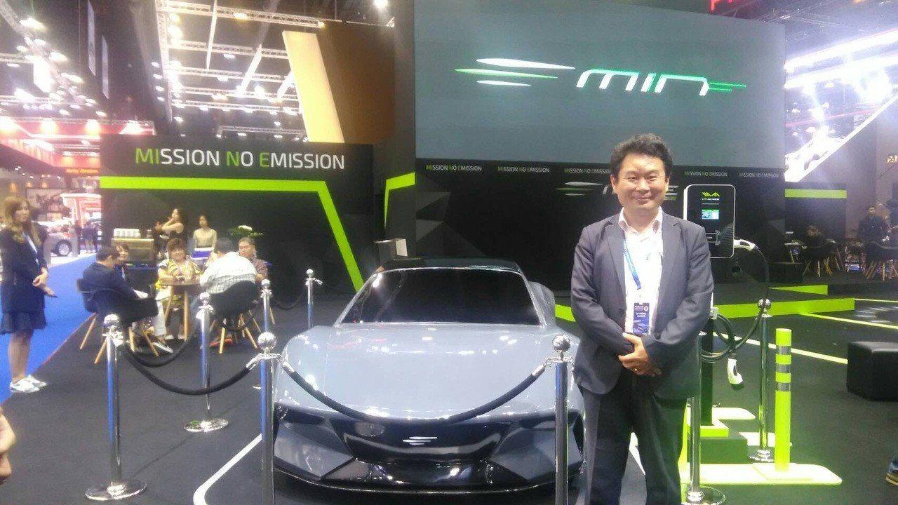 有量科技總經理程敬義將STOBA鋰電池應用於電動車產業上,帶領台灣電池產業進軍東...