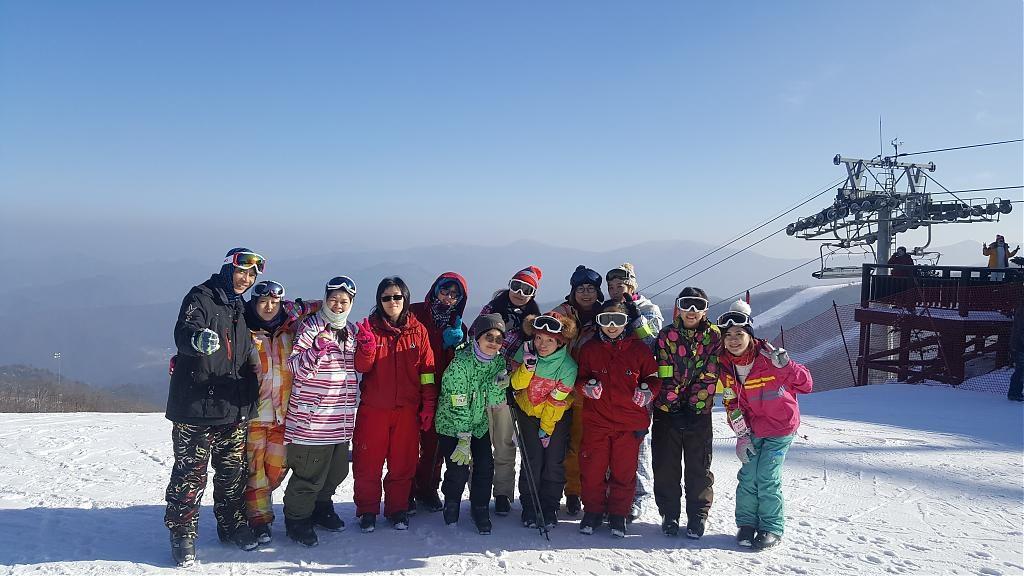 ▲韓國滑雪體驗-High one滑雪場。(圖/Tripbaa趣吧!達人帶路)