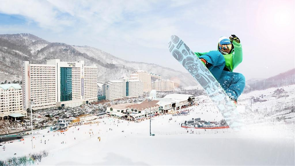 ▲韓國滑雪-洪川大明滑雪場體驗。(圖/Tripbaa趣吧!亞洲自由行專家)