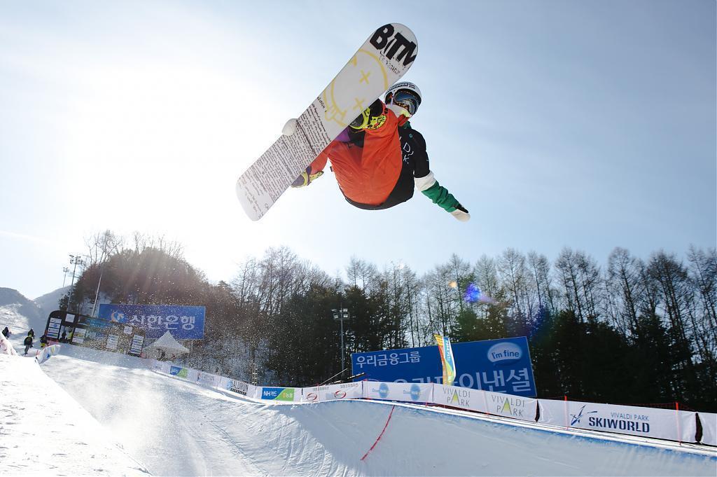 ▲韓國滑雪-單板滑雪場體驗。(圖/High One官網)