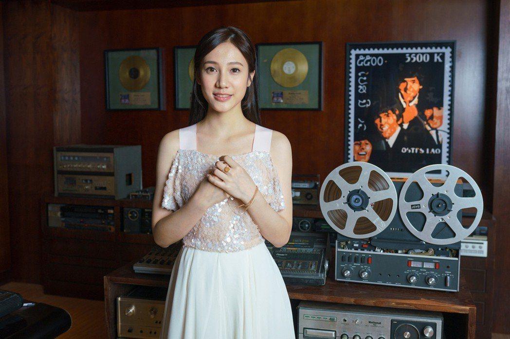 魏奇奇首度拍攝MV。圖/安邁進提供