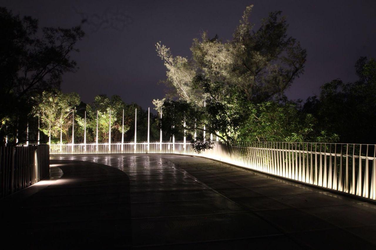 空中步道橋。圖/台中市政府提供