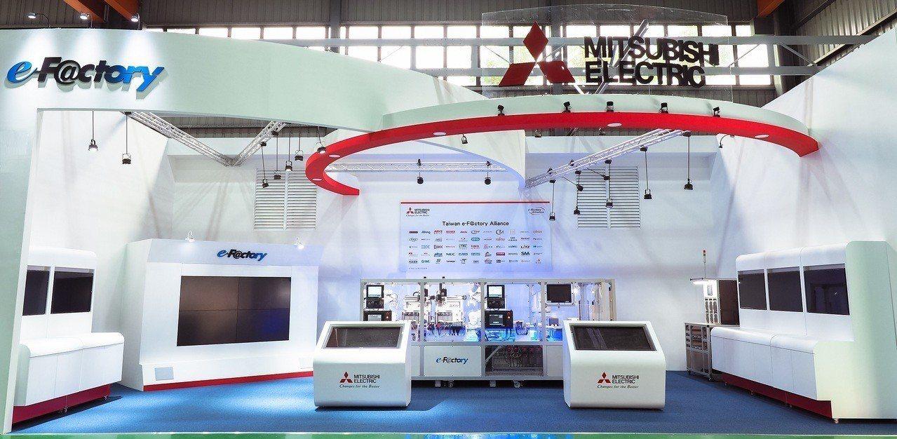 三菱電機進駐由台灣經濟部工業局、台中市政府以及台灣產業技術研究開發機構財團法人工...
