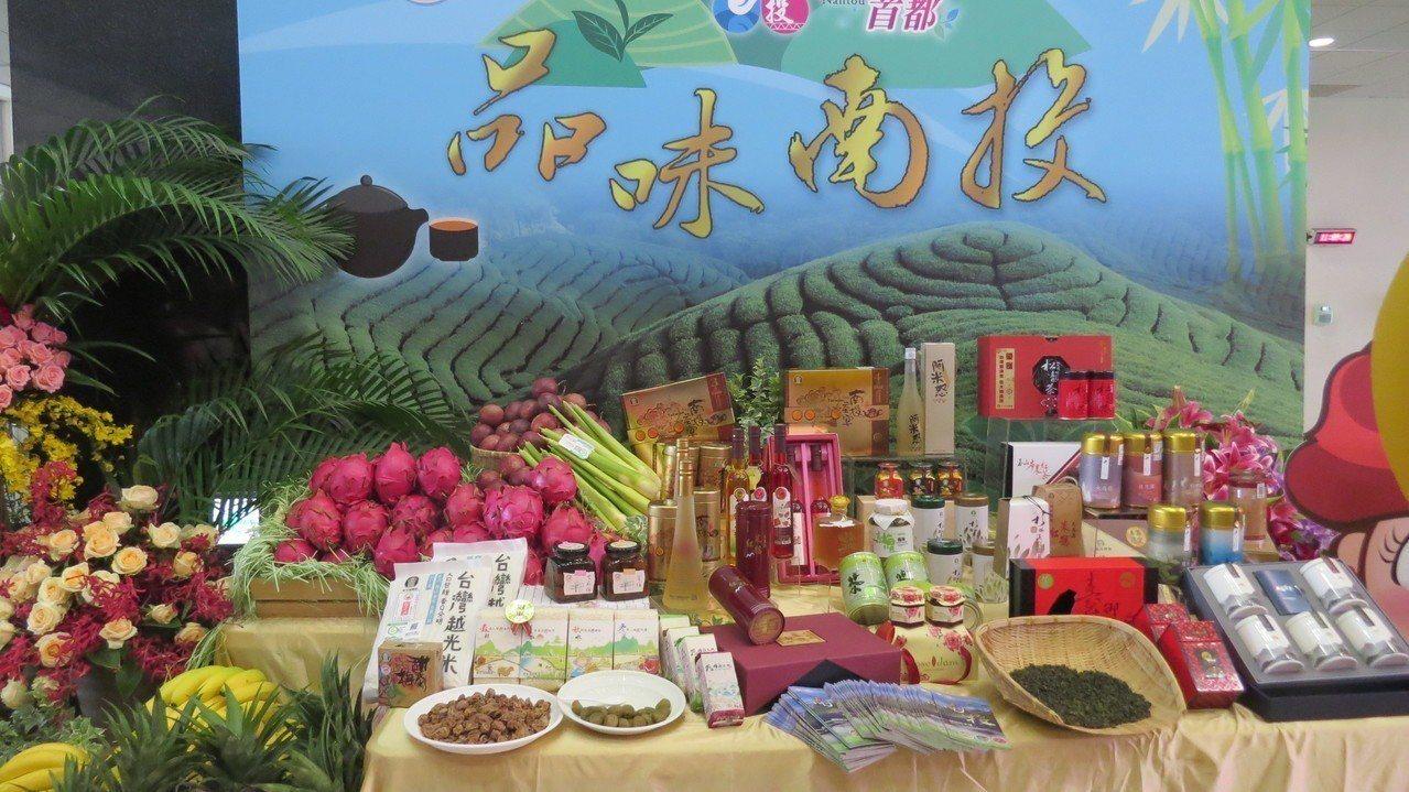 年中台灣農業博覽會南投縣規畫「品味南投館」。記者范榮達/攝影