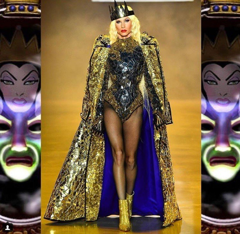 瑪丹娜也是The Blonds粉絲。圖/摘自IG