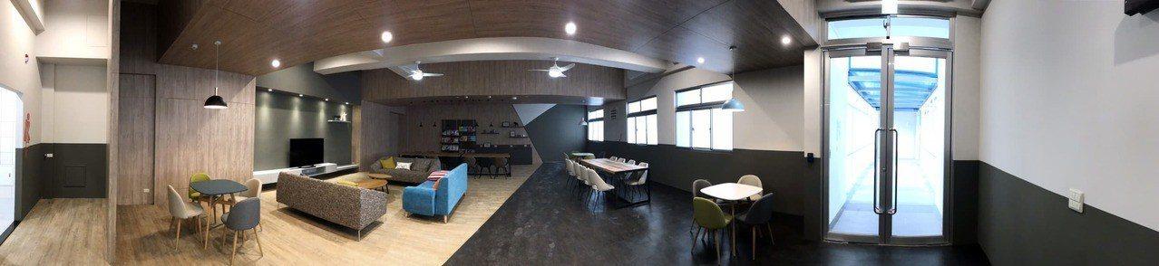 龍華科技大學斥資近3億元,打造如同五星級飯店般的宿舍。圖/龍華科大提供