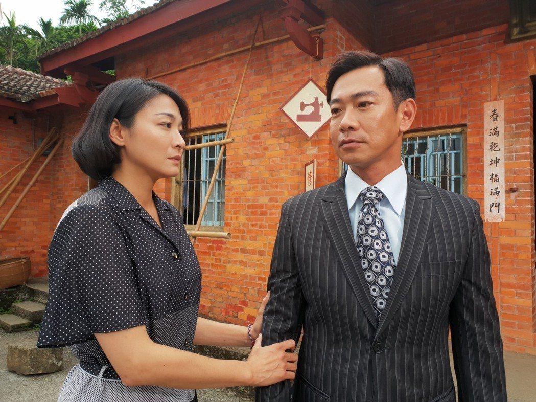 江俊翰為演出「大時代」鏟肉8公斤。圖/民視提供
