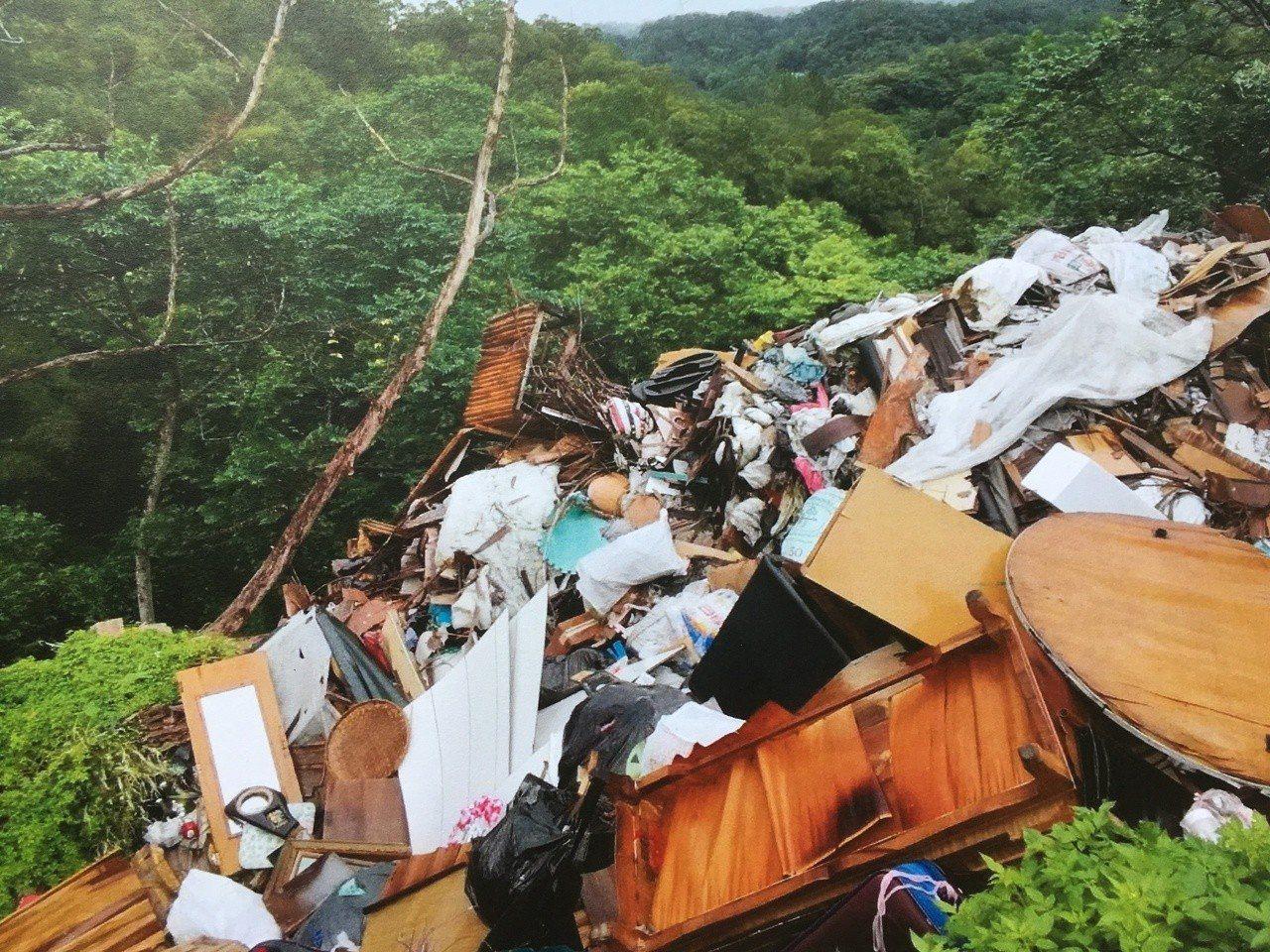 垃圾棄置場。圖/姜良明提供
