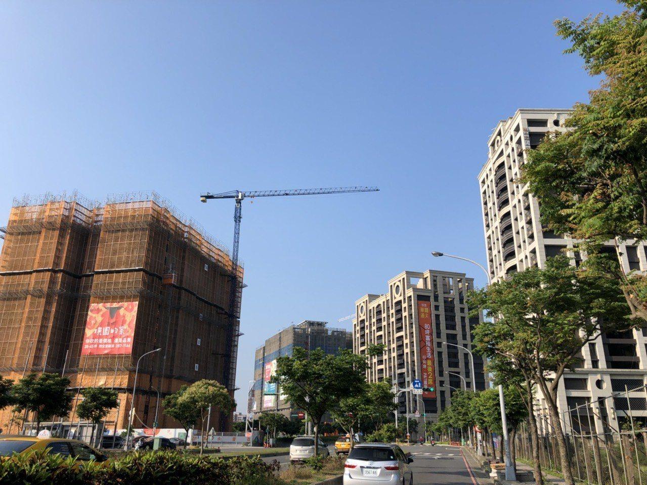 新建餘屋桃園市1.35萬宅排第二,僅次於新北市。 記者游智文/攝影