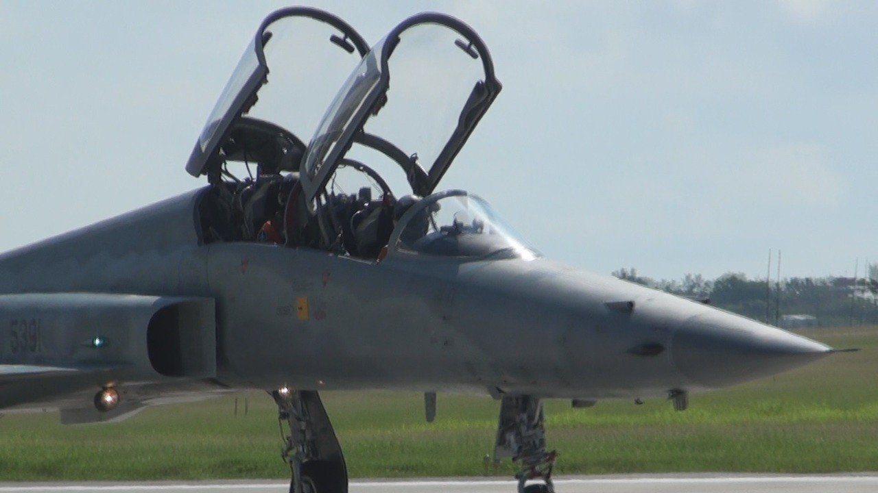 F-5F戰。聯合報系資料照