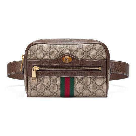 Gucci的Ophidia系列Logo腰包,主打小巧復古的古著風格,價格店洽。圖...