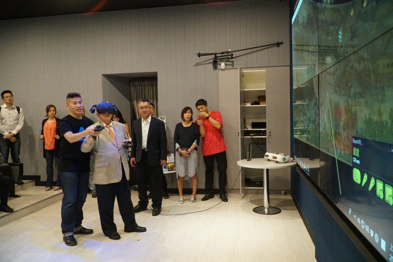 透過動漫教育中心的啟用,讓新竹縣的科技產業更加蓬勃發展。記者郭政芬/攝影