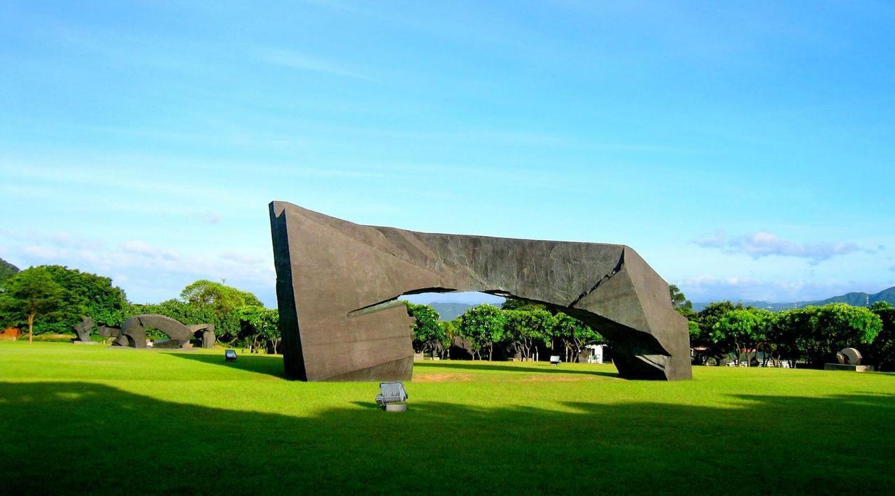 深受海內外旅客喜愛的朱銘美術館獲得全台最佳博物館第3名。圖/TripAdviso...