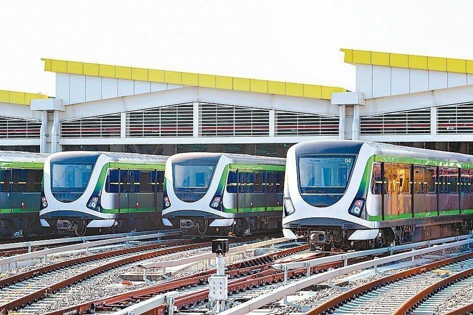 台中捷運綠線,中市府預計2020年全線通車。 圖/台中市新聞局提供