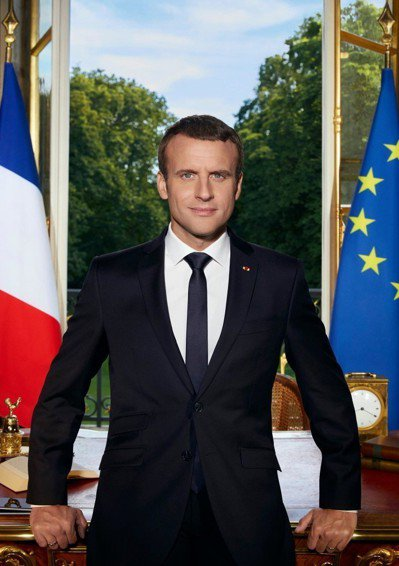 法國總統馬克宏減核政策跳票,引發環保部長辭職。圖/摘自馬克宏臉書