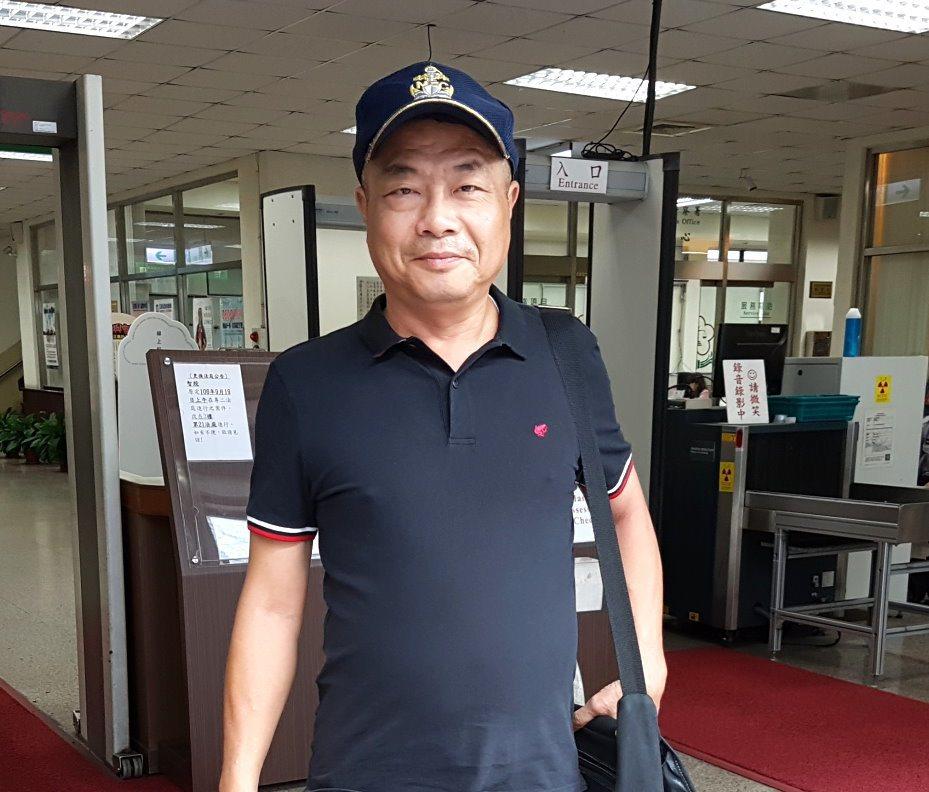 中華統一促進黨員李承龍。聯合報系資料照