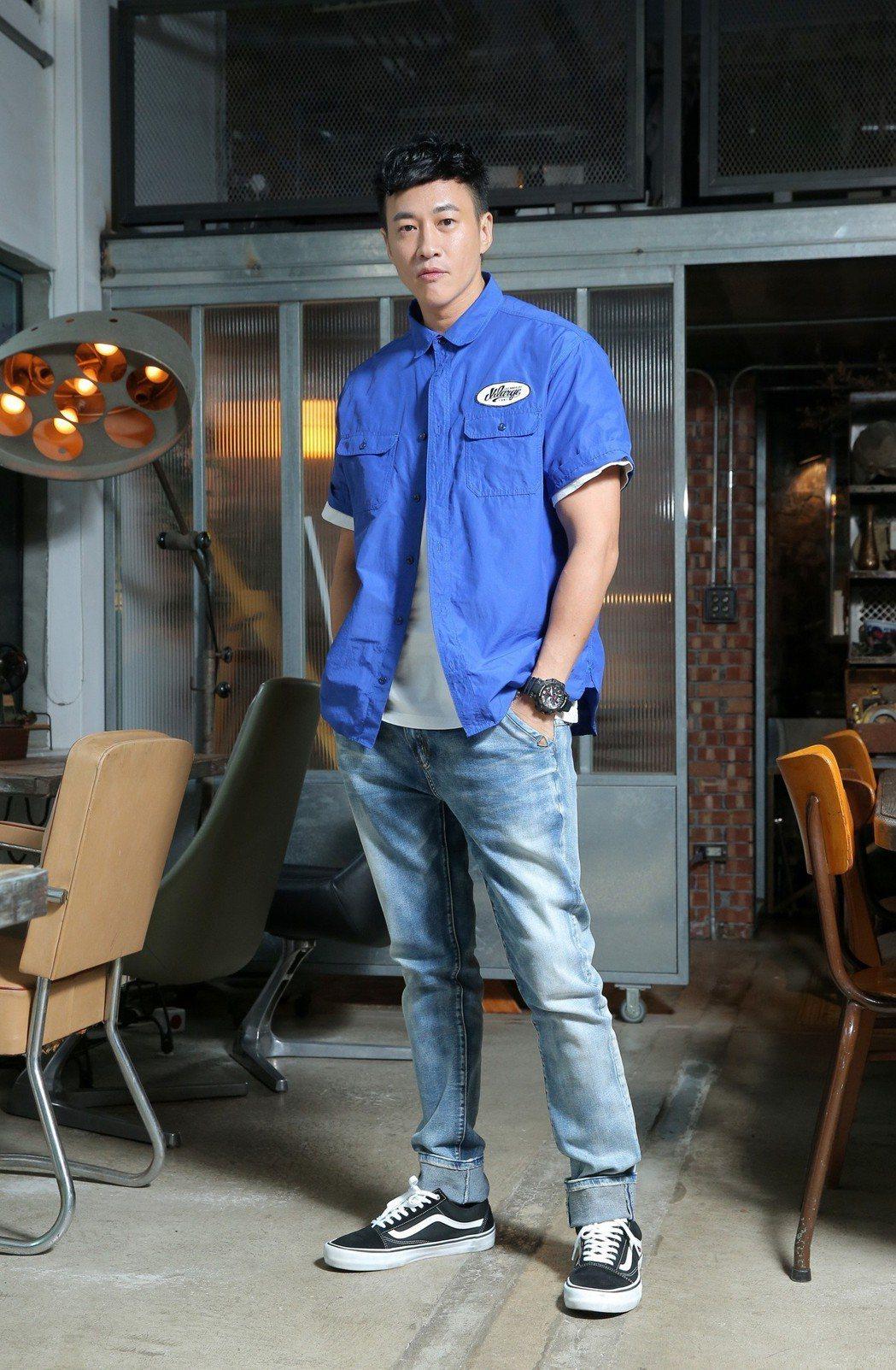 何潤東首當導演角逐金鐘。記者林澔一/攝影