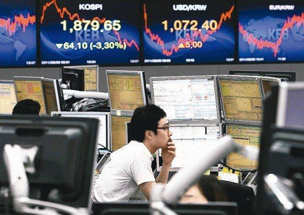 EPFR統計,上周新興市場基金多為資金淨流出,僅有亞洲(不含日本)小幅獲0.71...