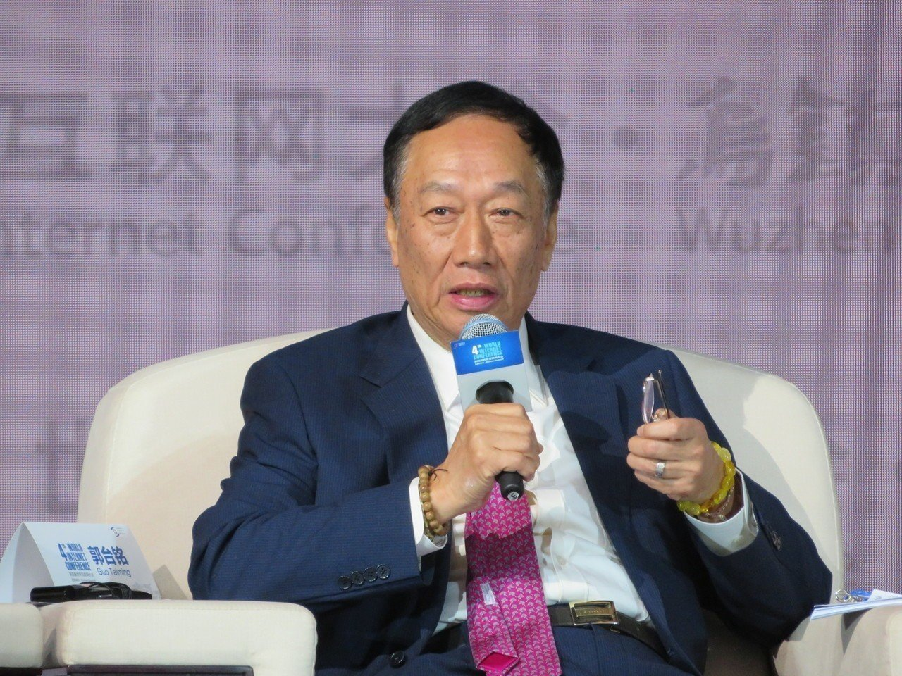 鴻海董事長郭台銘。(報系資料庫)