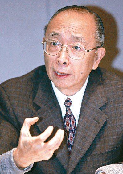 台灣自由主義先驅、中研院院士胡佛病逝。 圖/聯合報系資料照片