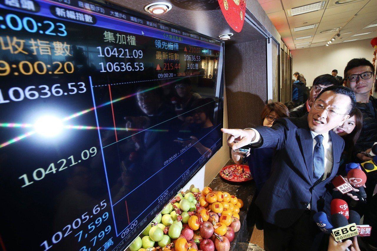 台股將自後、109年實施逐筆交易制度。 聯合報系資料照/記者高彬原攝影