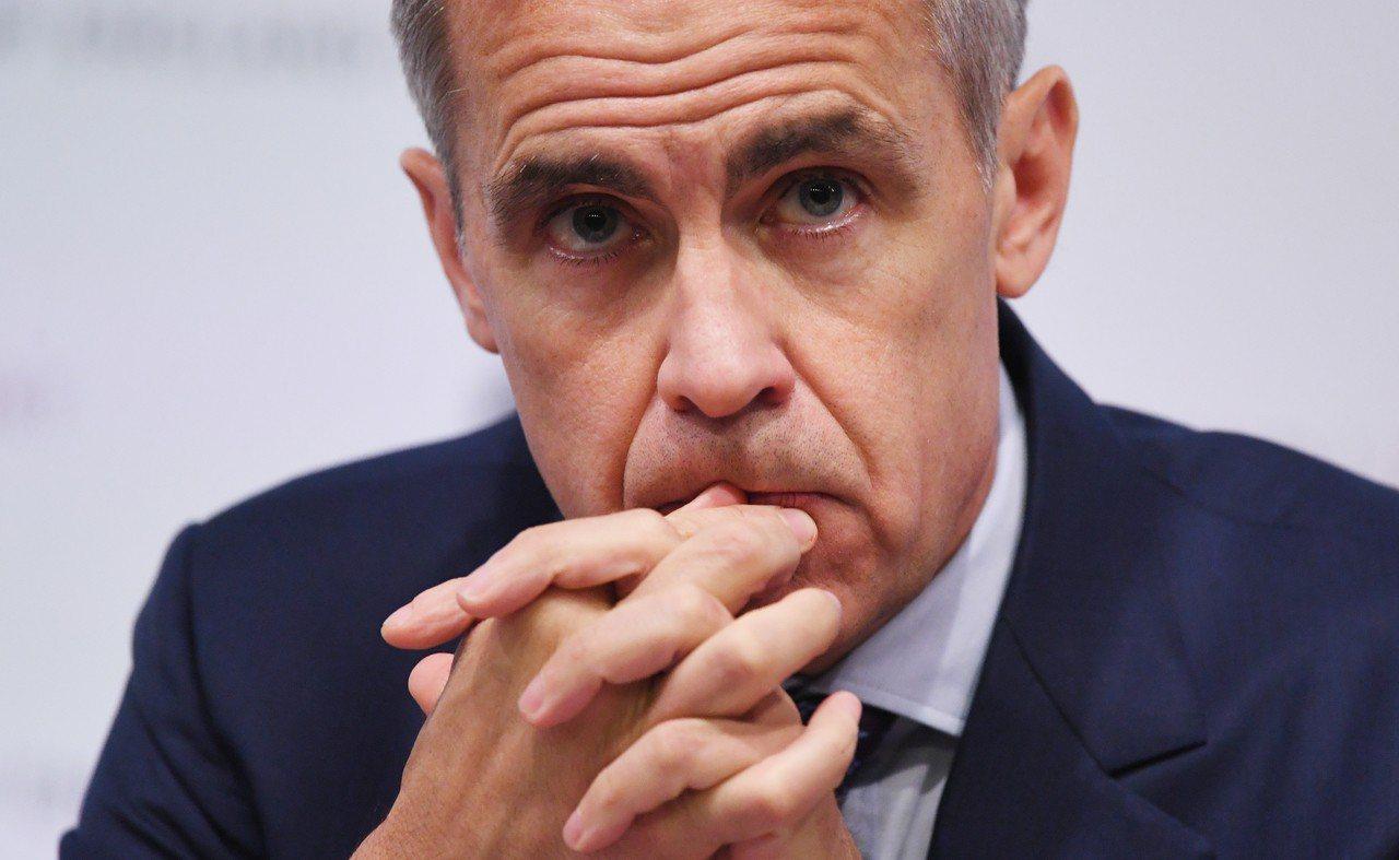 英國央行總裁卡尼(Mark Carney)任期將再延長7個月。 歐新社