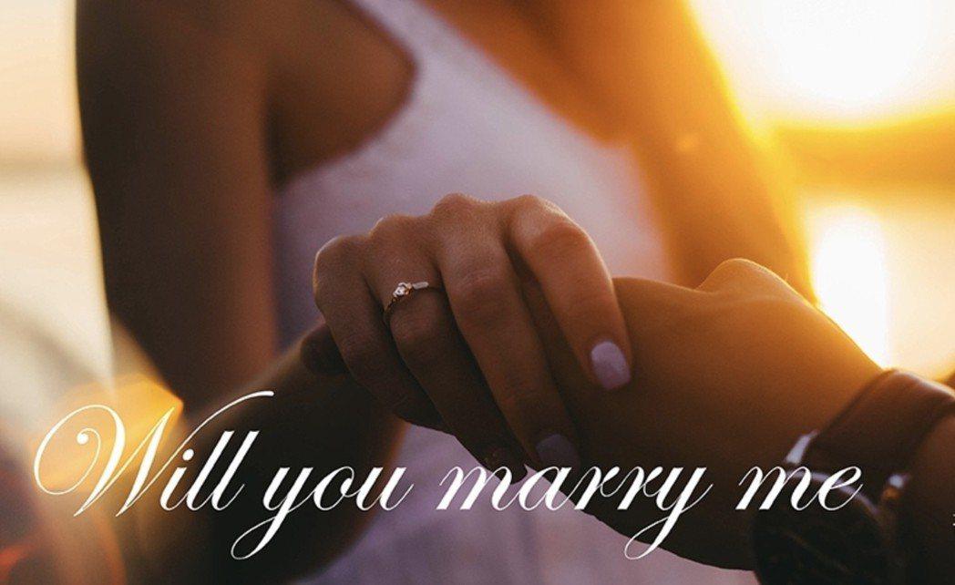 AMC 鑽石婚戒週年慶預購活動開跑,擁有頂級鑽戒不是夢。 AMC 鑽石/提供