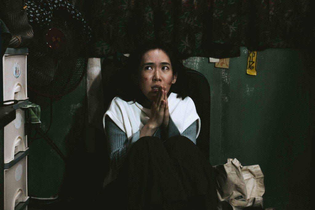 孫可芳在《粽邪》戲中飾演許千禾。 圖/華影國際提供