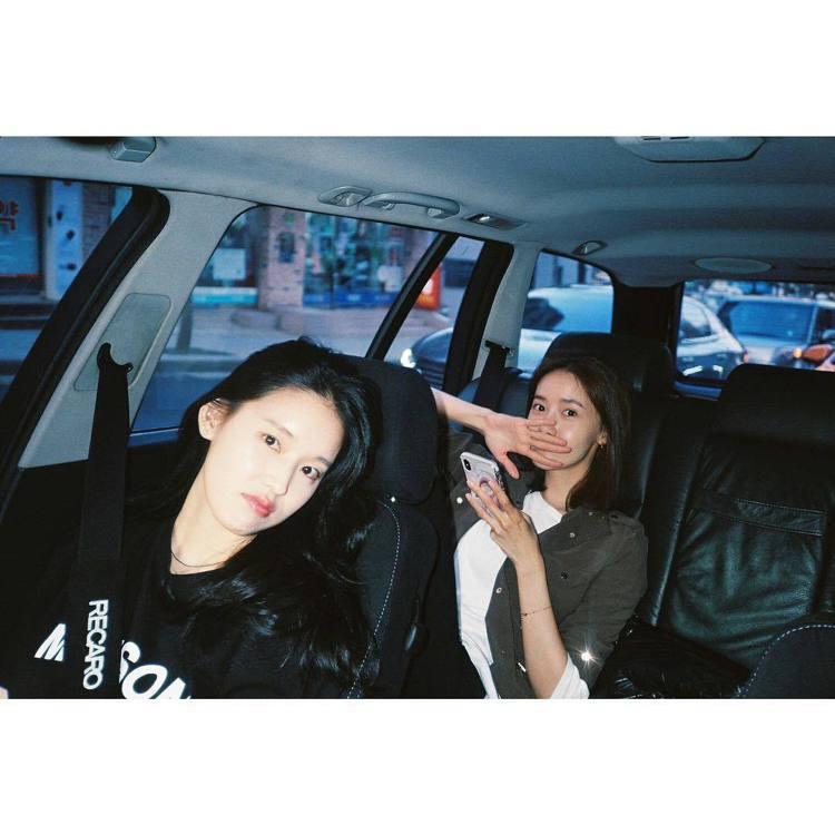 (左)朴煥熙、潤娥。圖/擷自instagram