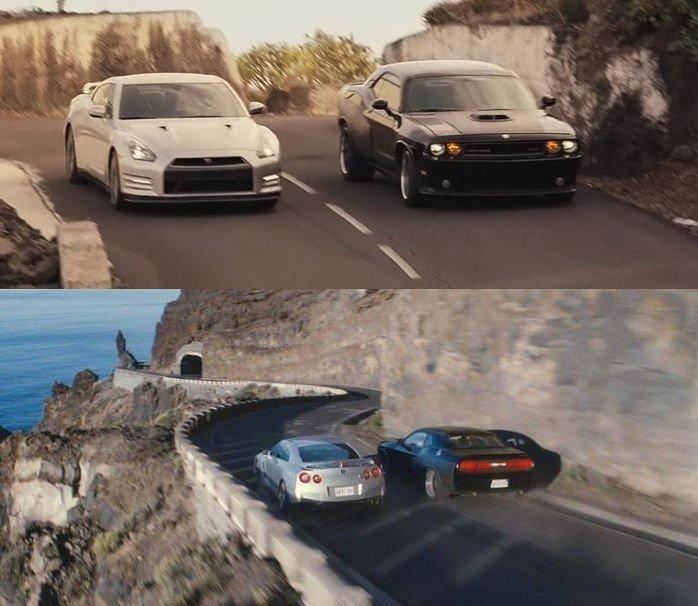 玩命關頭6 布萊恩與唐老大的開場追逐片段。 摘自The Fast and the...