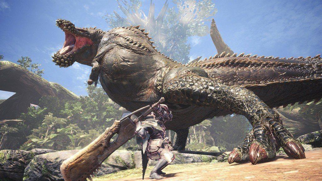 《魔物獵人:世界》遊戲畫面。圖/截自網路