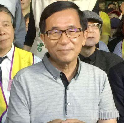 前總統陳水扁化身的「勇哥」,在臉書「新勇哥物語」發表時事看法。圖/聯合報系資料照