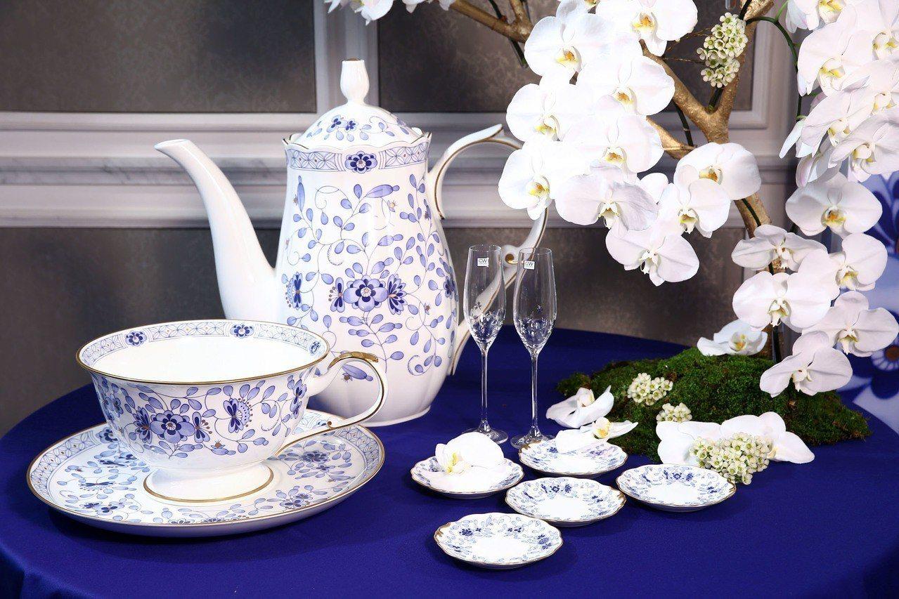 NARUMI是日本骨瓷的代表品牌。圖/集雅廊提供