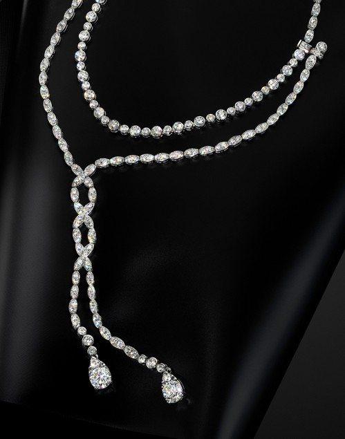 Lorelei Floral Convertible 可轉換式鑽石項鍊/耳環,1...