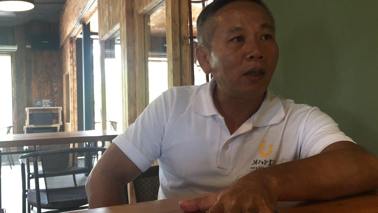 孩子的書屋創辦人陳俊朗堅持了19年,接下來要與「為台灣而教」、「誠致基金會」等逆...