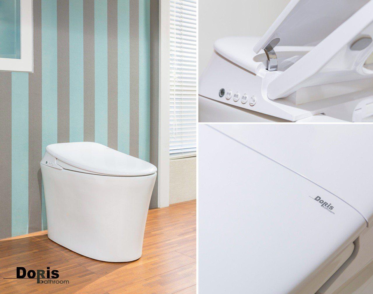瑭麗莊精品衛浴很科技,高雄建材展未演先轟動。圖/業者提供