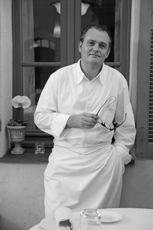 南法蔚藍海岸米其林二星餐廳Villa Archange名廚Bruno Oger。...
