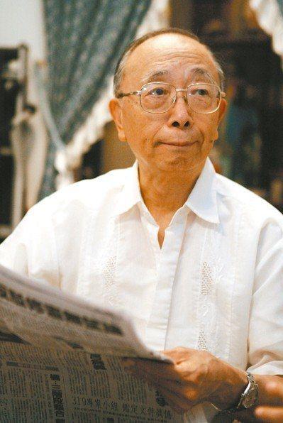 被喻為台灣學術界自由主義先驅的中研院院士胡佛昨病逝。圖/報系資料照