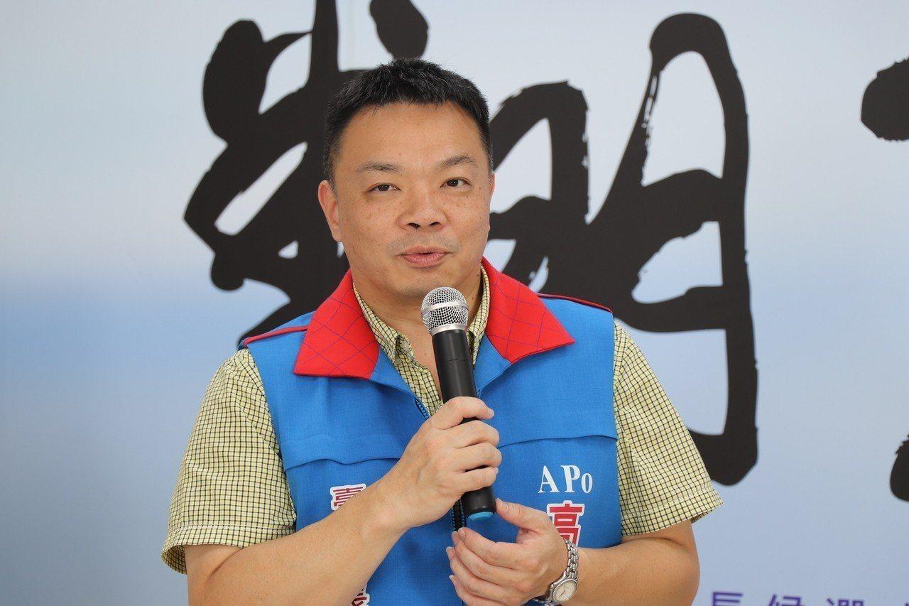 國民黨台南市長參選人高思博。本報資料照片