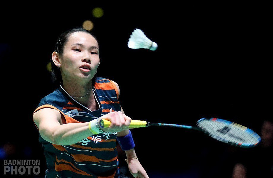 戴資穎在日本公開賽爆冷出局。 圖/Badminton Photo提供(資料...