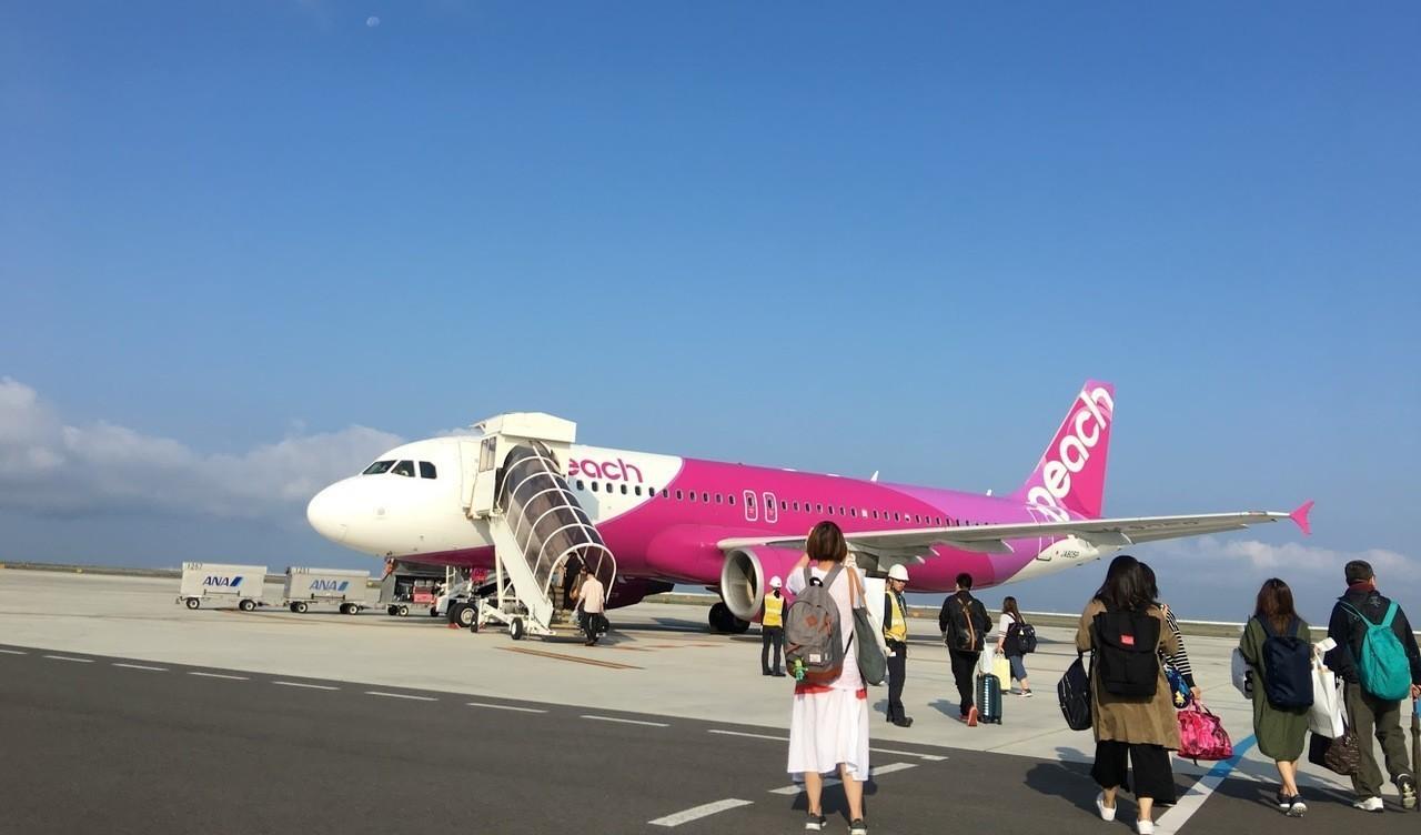 樂桃航空從台北、高雄到大阪往返航班已恢復正常營運。記者魏妤庭/攝影