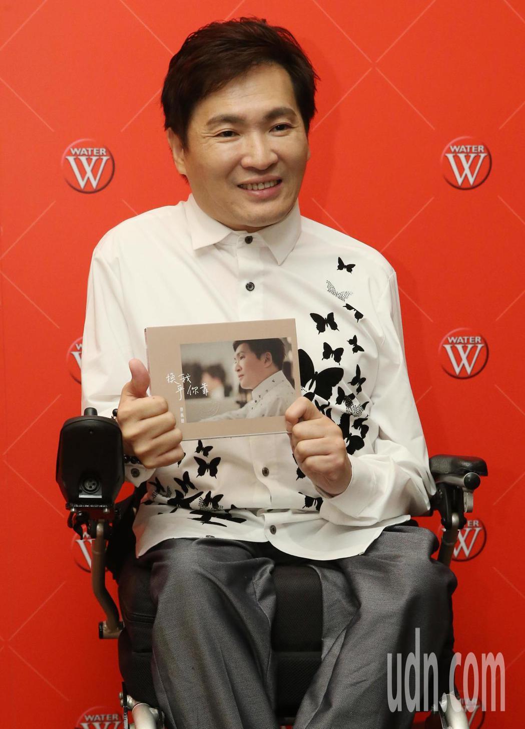 「台灣鴨王」蔡義德「換我呼你靠」發片會。記者林俊良/攝影