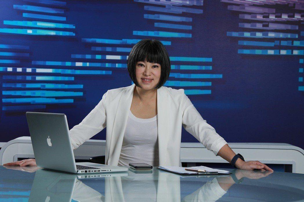 范琪斐加入寰宇新聞台。圖/寰宇新聞台提供