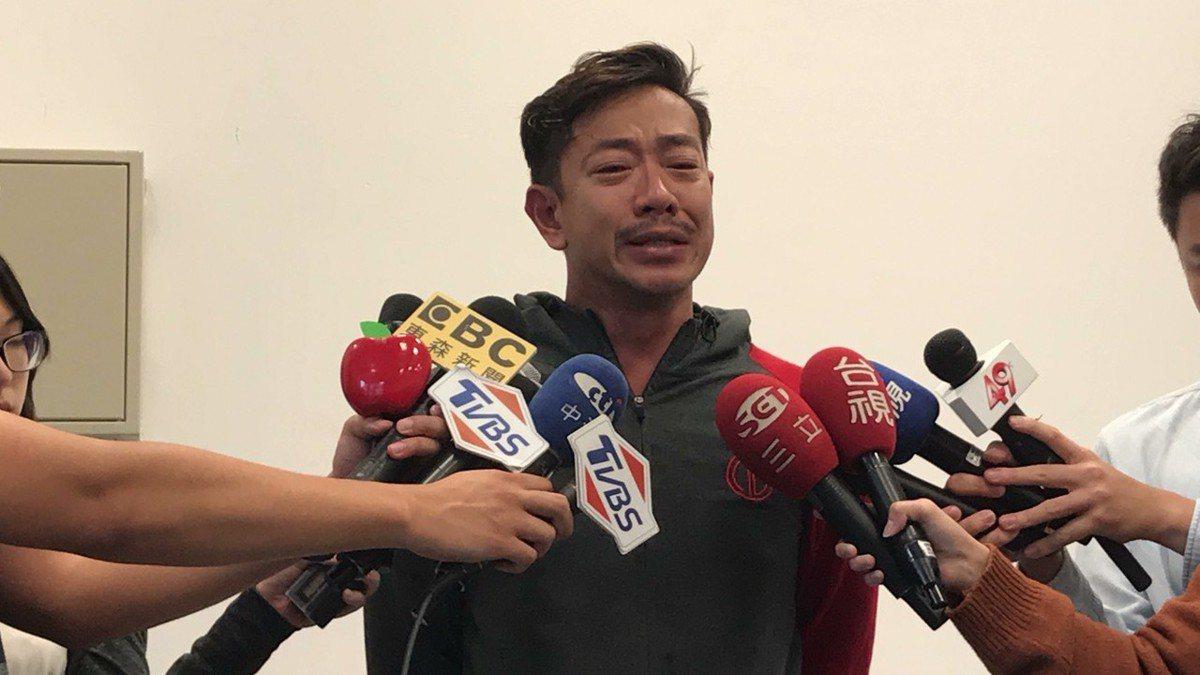 江俊翰涉毒淚崩道歉。圖/民視提供