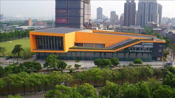 台中市朝馬國民運動中心。圖/取自教育部體育署